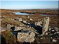 NY6537 : Small tarn near the Maiden Way on Melmerby Fell by Karl and Ali