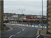 HU4741 : Church Road becomes the Esplanade, Lerwick by Rob Farrow