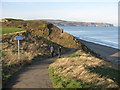 NZ8811 : Cleveland Way approaching the ravine by Pauline E