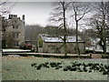 SD7765 : Frosty Morning at Lawkland Hall by Chris Heaton