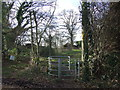 TQ5360 : Public footpath near Otford by Malc McDonald