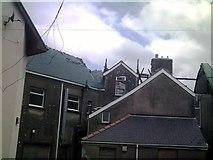 SN1916 : Rear of Grosvenor House Whitland by welshbabe