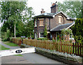SJ6543 : Lock Cottage at Audlem, Cheshire by Roger  Kidd