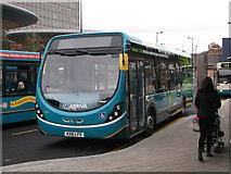 TQ7568 : New Arriva bus in Chatham Bus Interchange (2) by David Anstiss