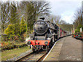 SD7914 : Black Five at Summerseat by David Dixon