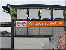 TQ2182 : Willesden Junction station entrance, Station Approach, NW10 (2) by Mike Quinn