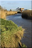 TA0832 : River Hull south of Sutton Road by Paul Harrop