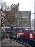 TQ3179 : Pavement, Elephant and Castle SE1 by Robin Sones