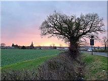 SO7729 : Dawn over Staunton 3 by Jonathan Billinger