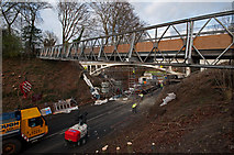 TQ2652 : Temporary footbridge by Ian Capper