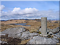 NR5879 : Trig point of Clach an Roin by Trevor Littlewood