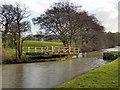 SD5208 : Leeds and Liverpool Canal, Ranicar's Swing Bridge by David Dixon