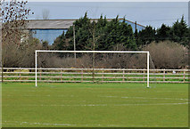 J2883 : Goalposts, Mallusk, Newtownabbey (4) by Albert Bridge