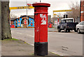 J3574 : Victorian pillar box, Belfast by Albert Bridge