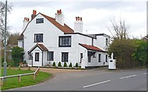 TQ0866 : Dunally Cottage, Lower Halliford by Mike Smith