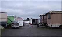 SU1585 : Edwards Amusement Depot, Ferndale Road, Swindon by Vieve Forward