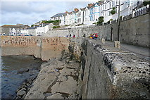 SW6225 : Porthleven outer harbour by Graham Horn