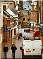 NX9776 : Damp and Dreary Dumfries by Andy Farrington