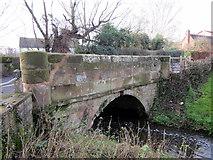 SO9568 : Buntsford Hill Bridge Over The Sugar Brook by Roy Hughes