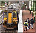 NN2281 : Train at Spean Bridge station by The Carlisle Kid