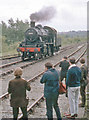SO7192 : Severn Valley Railway: enthusiasm on Opening Day, 1970. by Ben Brooksbank