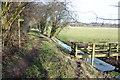SO3149 : Former tramway, Eardisley by Philip Halling