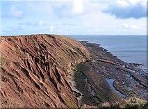 TA1281 : Boulder clay erosion, Filey Brigg by Gordon Hatton