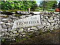 NY4102 : Troutbeck Village Sign, Cumbria by Christine Matthews