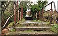 J2764 : Footbridge, Lisburn/Hilden (2) by Albert Bridge