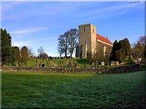 NZ0772 : Church of St Mary, Stamfordham by Andrew Curtis
