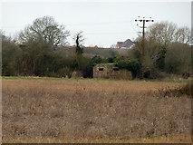 SU9201 : Pillbox overlooking Aldingbourne Rife by Robin Webster