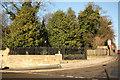 SK9771 : The Lawn gates by Richard Croft