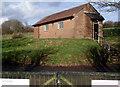 ST0573 : Telephone exchange near Bonvilston by Jaggery