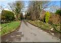 ST0574 : Minor road north of the A48 west of Bonvilston by Jaggery