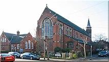 TQ2572 : St Luke, Ryfold Road, Wimbledon Park by John Salmon