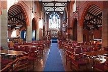 TQ2572 : St Luke, Ryfold Road, Wimbledon Park - East end by John Salmon