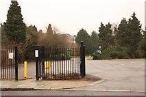 TQ4387 : Entrance to Valentines Park by John Salmon