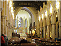 SE1633 : Bradford Cathedral - interior by Stephen Craven