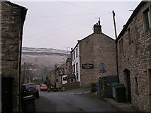 SD9772 : Kings Head, Kettlewell by John Slater
