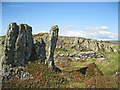 NR6880 : Rock formations on Rubha na Cille by Bob Jones