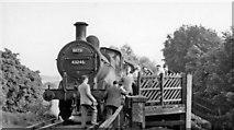 TL0506 : Heath Park Halt, with RCTS Rail Tour by Ben Brooksbank