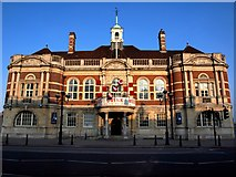 TQ2775 : The former Battersea Town Hall by tristan forward