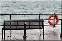 J4791 : Coastal seat, Whitehead by Albert Bridge