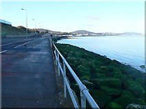 SH8678 : The promenade at Old Colwyn by Eirian Evans