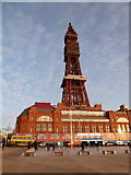 SD3036 : Blackpool: the Tower by Chris Downer