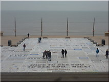 SD3036 : Blackpool: the Comedy Carpet by Chris Downer