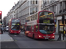 TQ2881 : Red London Buses by Colin Smith