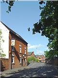 SJ9214 : Cannock Road in Penkridge, Staffordshire by Roger  Kidd