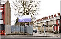 J3574 : Regeneration site, Ballymacarrett, Belfast by Albert Bridge