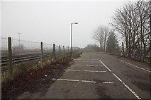 SU5290 : End of the carpark by Bill Nicholls